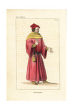 French Bourgeois, 14th Century Giclee Print by Leopold Massard