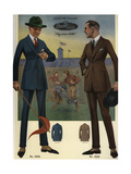 Men's Single-Breasted Suits from the 1920s Giclee Print