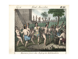 Mexican Natives Celebrating the Beginning of the Century Giclee Print