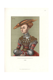 Portrait of a Lady, Probably a Hungarian Princess, 1528 Giclee Print by Jakob Heinrich Hefner-Alteneck