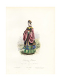 Mandarin Woman, China Giclee Print by Polydor Pauquet