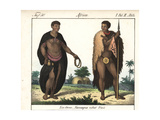Costumes of the Nama People of South Africa Giclee Print
