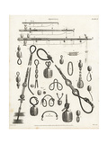 Rigging for Sailing Ships, 18th Century Giclee Print by J. Glover