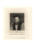 Richard Bancroft, Archbishop of Canterbury Giclee Print by G. Vertue
