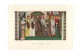 Empress Theodora Giclee Print by Jakob Heinrich Hefner-Alteneck