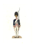 French Guardsman, 18th Century Giclee Print by Edmond Lechevallier-Chevignard