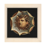 Wind God from the House of the Patrician, Pompeii Giclee Print