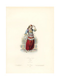 Greek Dancing Girl, 1827 Giclee Print by Hippolyte Pauquet