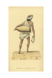 Bihishtee or Indian Water Carrier Giclee Print