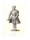 Suit of Steel Armor, First Half of the 16th Century Giclee Print by Jakob Heinrich Hefner-Alteneck