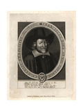 Francis Rous, Provost of Eton College, 1643 Giclee Print by William Faithorne