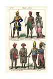 Burmese Minister, Highlanders, and Couple from Pegu (Bago) Giclee Print