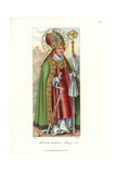 Portrait of Albert of Brandenburg as St Erasmus, 1510-1550 Giclee Print by Jakob Heinrich Hefner-Alteneck