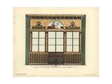 Shopfront of Marais' Herbalist or Apothecary, Paris, Circa 1800 Giclee Print by Hector-Martin Lefuel