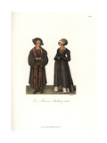 German Costume of the Nobility, 1504 Giclee Print by Jakob Heinrich Hefner-Alteneck