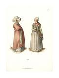 Women of Nuremburg by Albrecht Durer, 1500 Giclee Print by Jakob Heinrich Hefner-Alteneck
