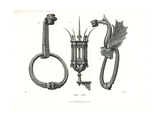 Colossal Iron Lantern from the Palazzo Strozzi, Florence Giclee Print by Jakob Heinrich Hefner-Alteneck
