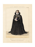 Marie De Medici, 16th Century Giclee Print by Thomas Hailes Lacy