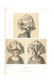 Woman in Starched Linen Headdress known as a Sturz, 16th Century Giclee Print by Jakob Heinrich Hefner-Alteneck