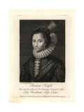Susanna Temple, Lady Lister, Lady Thornhurst Giclee Print by Cornelius Janssen
