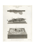Cometarium Giclee Print by J. Farey