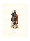 Native of North America, 1780 Giclee Print by Polydor Pauquet