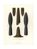 Spear Head Giclee Print by Jakob Heinrich Hefner-Alteneck