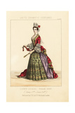 Court Dress, Reign of King James II, Circa 1687 Giclee Print by Thomas Hailes Lacy