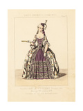 Fashionable Woman's Costume, 1780 Giclee Print by Thomas Hailes Lacy