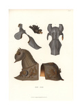 Suit of Armor for a Horse, 16th Century Giclee Print by Jakob Heinrich Hefner-Alteneck