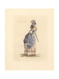 French Woman Wearing the Fashion of June 1790 Giclee Print by Auguste Etienne Guillaumot