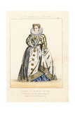 Lady of Rank, Reign of Queen Elizabeth, England, 1595 Giclee Print by Thomas Hailes Lacy