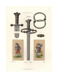 Sword of a German Mercenary, Early 16th Century Giclee Print by Jakob Heinrich Hefner-Alteneck