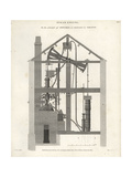 John Smeaton's Steam Engine, 19th Century Giclee Print by J. Farey