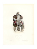 King Henry VIII of England Giclee Print by Polydor Pauquet
