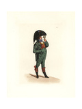 Costume of Pouraille, Master of Paris Giclee Print by Auguste Etienne Guillaumot