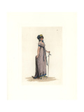 Costume of a Bourgeois Woman Giclee Print by Auguste Etienne Guillaumot