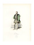 King Philippe II of Spain, 1556 Giclee Print by Polydor Pauquet