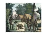 Chamorro People of the Island of Guam Giclee Print