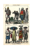Islanders of Bugis, Makassar, and the Moluccas (Indonesia) Giclee Print