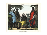 Costumes of the People of Senegal Giclee Print