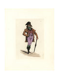 Costume of a Commis Marchand, Incroyable Giclee Print by Auguste Etienne Guillaumot