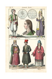 Turkish Man, Woman from Smyrna, Armenian Men and Women Giclee Print