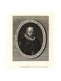 Count Gondamar, Spanish Ambassador in England, 1622 Giclée-trykk