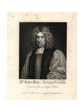 Dr John Hall, Bishop of Bristol, 1691 Giclee Print by T. Trotter