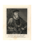 Sir Wolstan Dixie, Lord Mayor of London, Died 1585 Giclee Print by T. Trotter