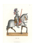 Full Battle Armor for Knight and Horse, Mid 16th Century Giclee Print by Jakob Heinrich Hefner-Alteneck