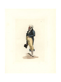 Costume of a Bourgeois Man Giclee Print by Auguste Etienne Guillaumot