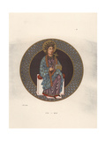 Saint Helena, Mother of Constantine the Great Giclee Print by Jakob Heinrich Hefner-Alteneck