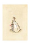 English Woman in the Fashion of April 1797 Giclee Print by Auguste Etienne Guillaumot